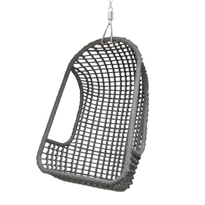 Hanging Egg Chair Outdoor Outdoor Hanging Egg Chair In Grey